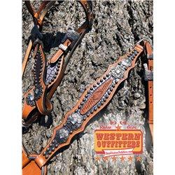 Ruidoso Dog Collar and Matching Leash